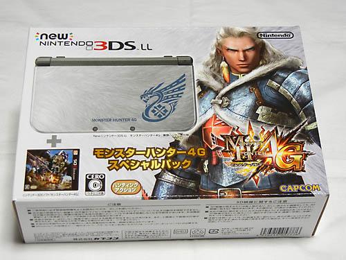 New 3DSLL+モンスターハンター4G スペシャルパック